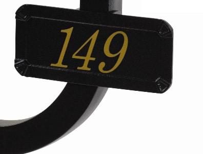 Gaines Keystone Address Plaque