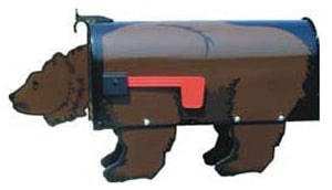 Brown Bear Residential Novelty Mailboxes