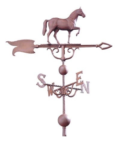 Whitehall 46 Inch Horse Traditional Weathervane