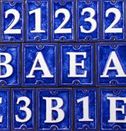 Ecco Ceramic Glass Tiles Detailed Image