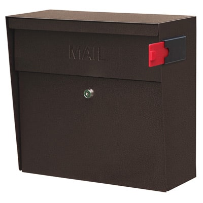 Mail Boss Metro Wall Mount Locking Mailbox