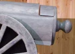 Pinehill Woodcraft Cannon Detailed Image