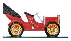 Whitehall Antique Auto Weathervane Close Up