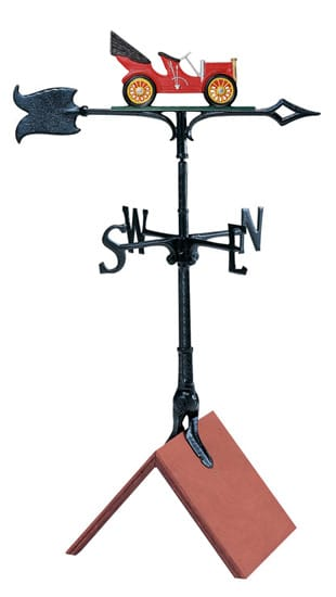 Whitehall 30 Inch Antique Auto Color Weathervane
