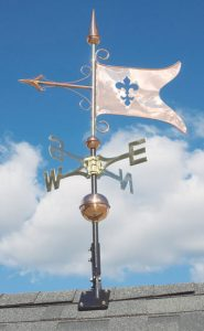 Whitehall Copper Banner Classic Weathervane