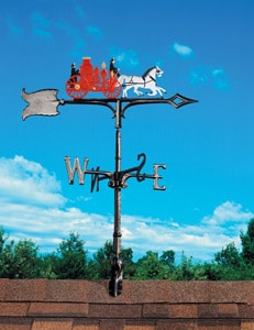 Whitehall Traditional Weathervanes Roof Mount