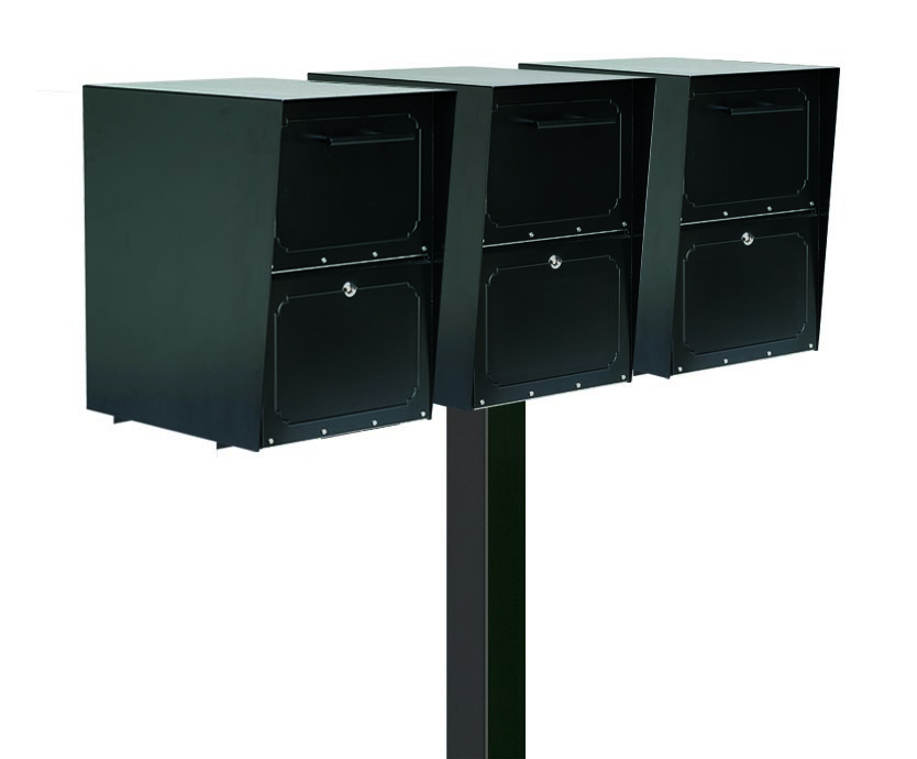 Large Oasis Locking Drop Boxes with Tri Standard Post