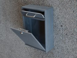 Epoch Locking Drop Box Open Doors