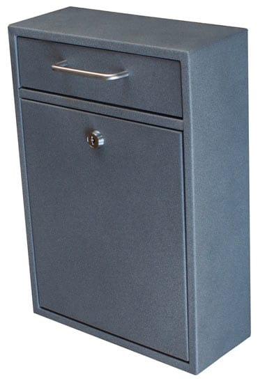 Epoch Design Locking Drop Box Mailboxes Wall Mount