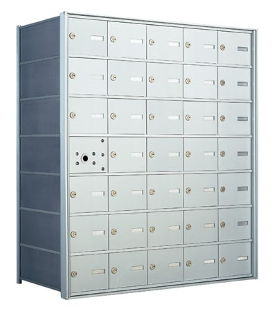 Florence 1400 Series 4B+ Commercial Mailboxes – 34 Door