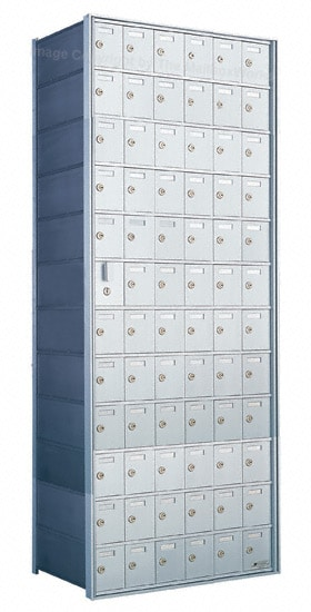 Florence Private Distribution Mailboxes 4B+ Horizontal 1600 Series 72 Door (71 Useable) 12 High