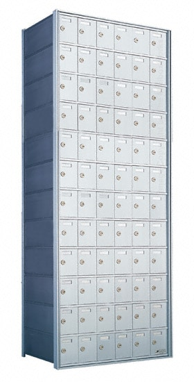 Florence Private Distribution Mailboxes 4B+ Horizontal 1700 Series 72 Door 12 High