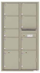 4C16D07 Front Private Distribution 4C Mailboxes