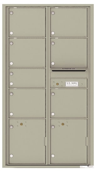 4C16D07 Front Private Distribution 4C Mailboxes