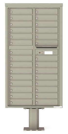 4C16D29-P Commercial 4C Pedestal Mailboxes