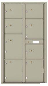4C16D8P Front Private Distribution 4C Mailboxes