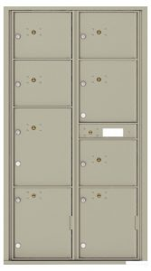 4C16D8P Front Loading Commercial 4C Mailboxes