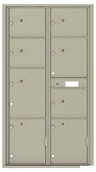 4C16D-8P Front Loading Commercial 4C Parcel Lockers – 8 Parcel Lockers
