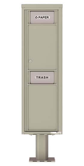4C16SBIN 4C Mailboxes Trash Recycling Bin