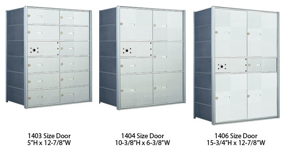 Optional Florence Postal Horizontal Door Sizes