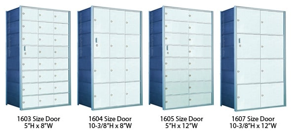 Optional Florence Private Horizontal Door Sizes
