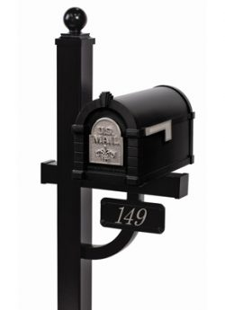 Gaines Keystone Mailbox Deluxe Post