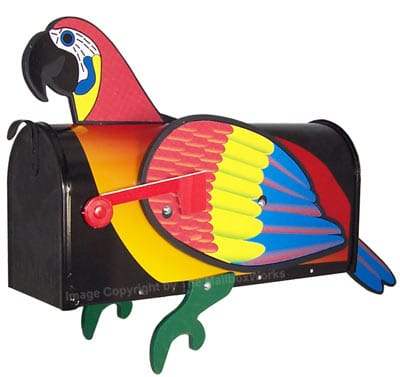 Unique Novelty Bird Shaped Mailboxes