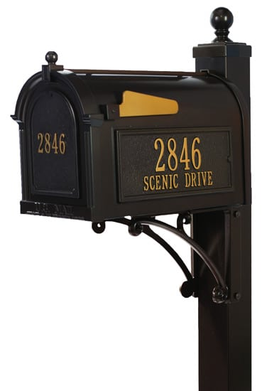 Custom Mailboxes for Sale Residential Post Mount