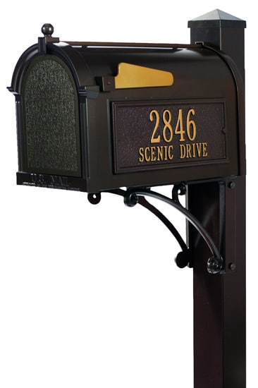 Post Mount Mailboxes with Posts