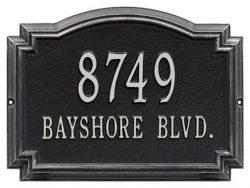 Unique Address Plaques