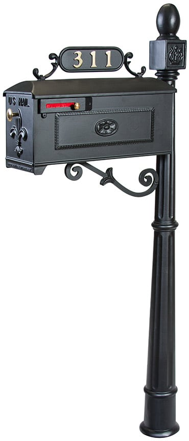 Imperial 311 Mailbox and Post