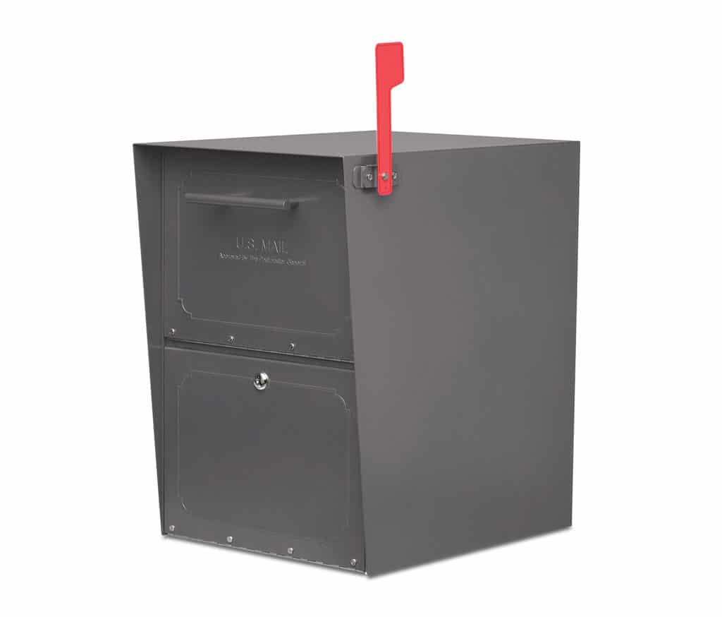 Large Oasis Locking Mailbox with Standard Post Product Image