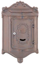 AMCO Colonial Wall Mount Mailbox Brick