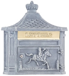 AMCO Victorian Wall Mount Mailbox Stone