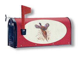 Bacova New Pheasant 15406 Burgundy Background