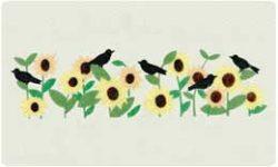 Bacova Mailbox Blackbirds 10307