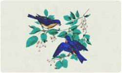 Bacova Mailbox Bluebirds 10005