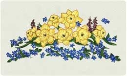 Bacova Mailbox Daffodils 10336