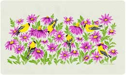 Bacova Mailbox Goldfinches 10419