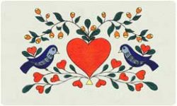 Bacova Mailbox Love Birds 10107