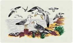 Bacova Mailbox Seagulls 10145