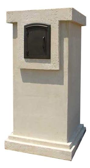 Manchester Locking Wall Mount Mailbox