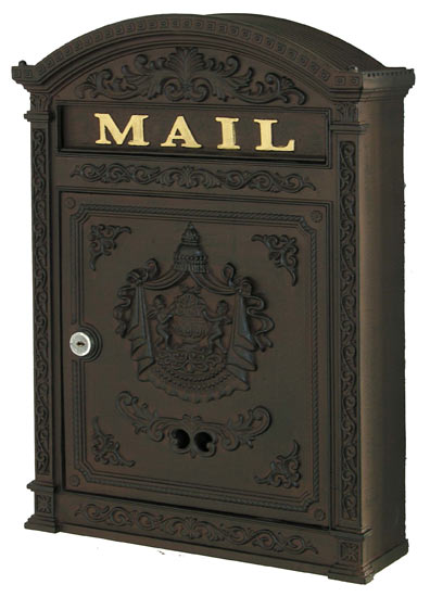 Ecco 6 Victorian Wall Mount Mailbox Product Image