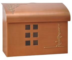 Ecco 7 Mailbox Copper