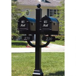 Signature Keystone Locking Mailboxes Double Deluxe