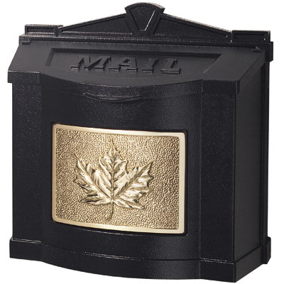 Gaines Maple Leaf Wall Mount Mailboxes