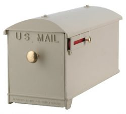 Imperial Mailbox and Post Almond