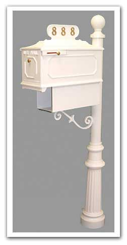 Imperial Mailboxes Newspaper Holder