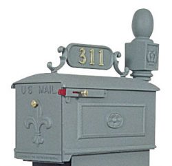 Imperial Mailboxes Address Plaque