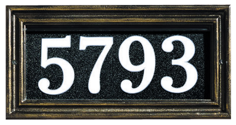 Whitehall Illuminator Address Plaque
